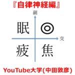 YouTube大学(中田敦彦)のまとめサイト!『自律神経編』
